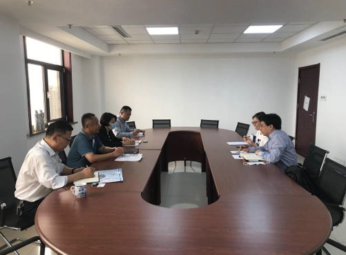 协会与山东省市场监督管理局知识产权保护处召开工作洽谈会